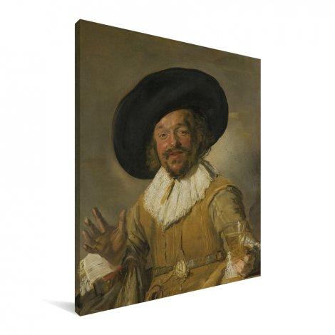 De vrolijke drinker - Schilderij van Frans Hals Canvas