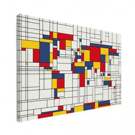 Mondriaan origineel canvas