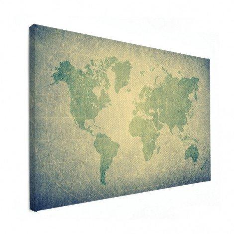 Perkament groen canvas