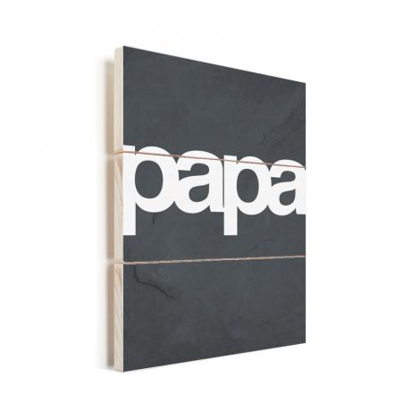 Vaderdag - Tekst en marmer - Papa Vurenhout