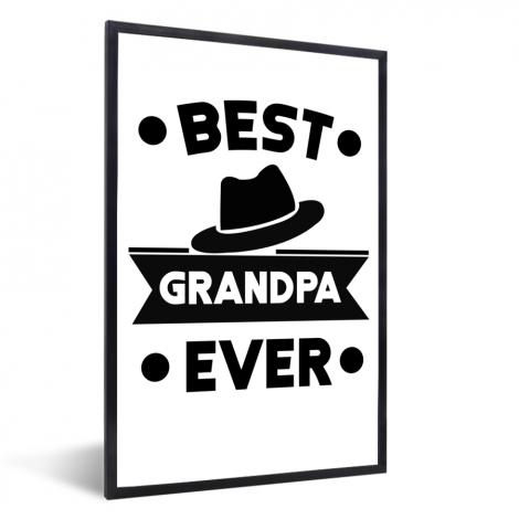 Vaderdag - Best grandpa ever Fotolijst