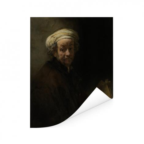 Zelfportret als de apostel Paulus - Schilderij van Rembrandt van Rijn Poster