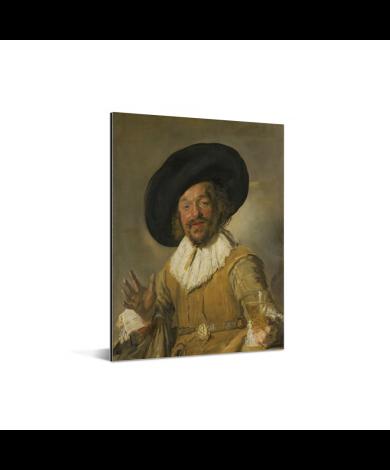 De vrolijke drinker - Schilderij van Frans Hals Aluminium