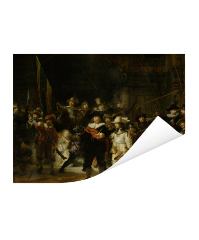 De Nachtwacht - Schilderij van Rembrandt van Rijn Poster