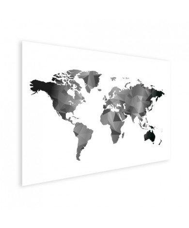 Geometrisch - zwart wit poster
