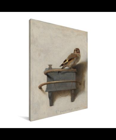 Het puttertje - Schilderij van Carel Fabritius Canvas