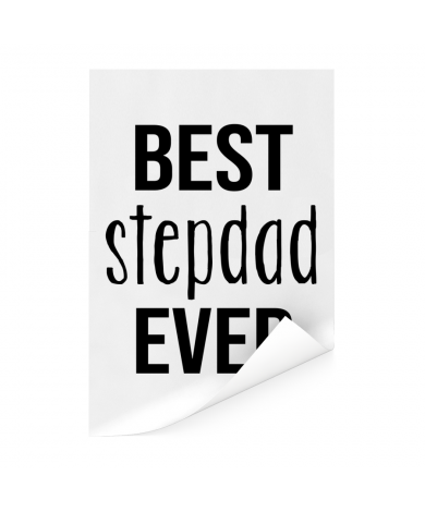 Vaderdag - Best stepdad ever Poster
