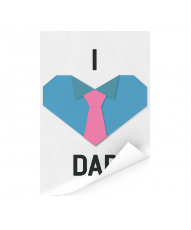 Vaderdag - I love dad Poster