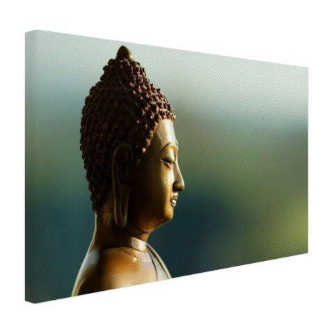 Boeddha op canvas