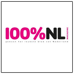 Logo 100% NL magazine