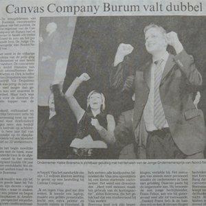 Canvas Company Burum valt dubbel in de prijzen