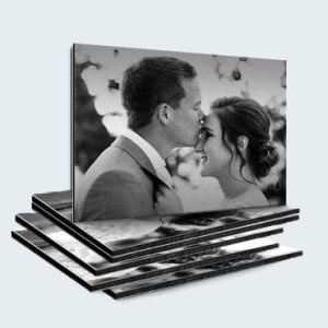 Offerte foto op aluminium