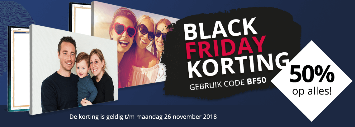 Foto op canvas Black Friday