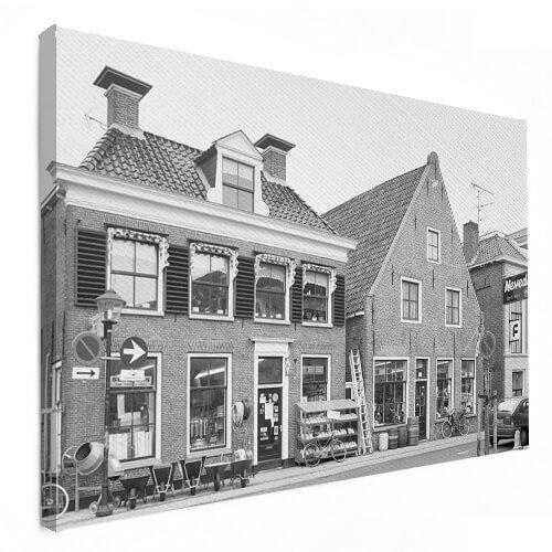 Offerte foto op canvas aanvragen