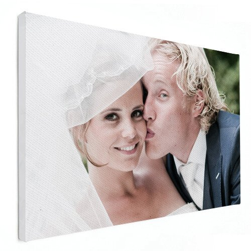 Foto op canvas stelletje