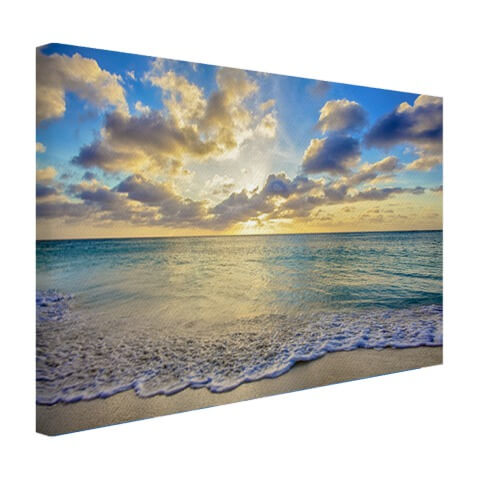 Strand op canvas