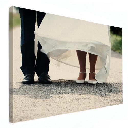 fotoshoot trouwen op canvas