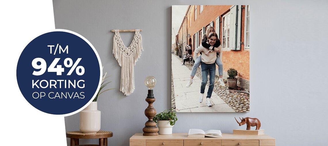 Lente aanbieding foto op canvas