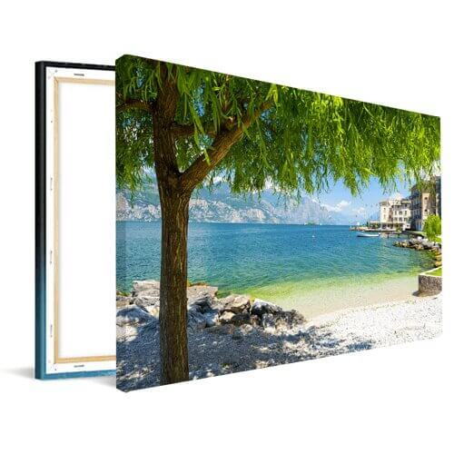 Foto op canvas strand zomer