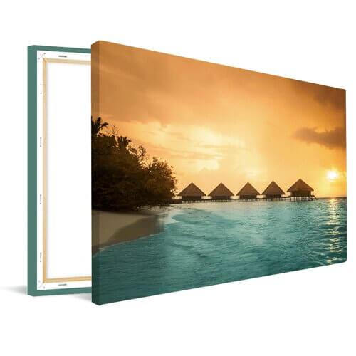Foto op canvas zomer